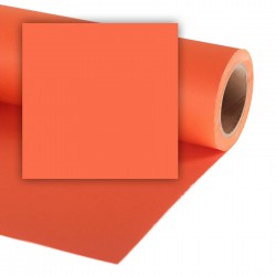 Colorama Pumpkin Background paper 1,35mx11m