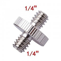 1/4 to 1/4 Stainless Steel Screw for Tripod Heads