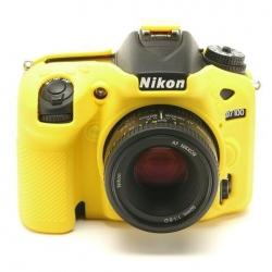 EasyCover Protection Silicone pour Nikon D7100 / D7200 Jaune