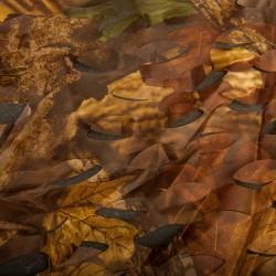 Buteo Camouflagenet I 2,4 x 3 m Coloured Leaf