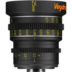 Veydra Mini Prime 25mm T2.2 Sony E Mount (metric)