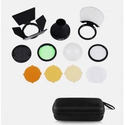 Quadralite Round Head Kit d'accessoires