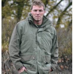 MilTec Parka Hunting (Polaire) Vert L