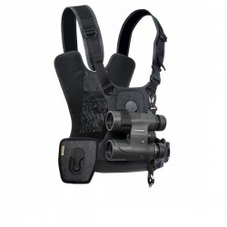 Cotton Carrier CCS G3 Grey Binocular & Camera Harness