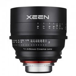 Xeen 50 mm T1.5 FF Cine pour Nikon F (FX)