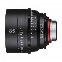 Xeen 85mm T1.5 FF Cine pour Canon EF Métrique