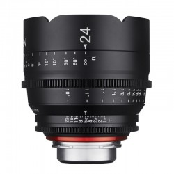 Xeen 24mm T1.5 FF Cine for Canon EF Metric