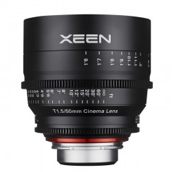 Xeen 50 mm T1.5 FF Cine pour Canon EF