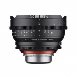 Xeen 14mm T3.1 FF Xeen 50 mm T1.5 FF Cine for Canon EF Metric