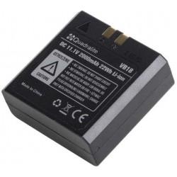 Quadralite VB18 battery for 60Evo / V850 / V860
