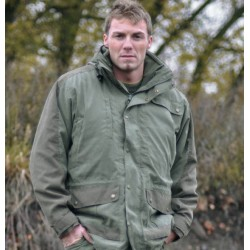 MilTec Parka Hunting (Polaire) Vert