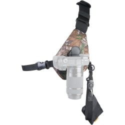 Cotton Carrier Camera Sling Style Harness (Camo)