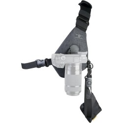 Cotton Carrier Camera Sling Style Harness (Grey)