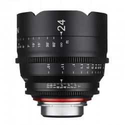 Xeen 24mm T1.5 FF Cine pour Nikon F (FX) Métrique