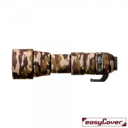 EasyCover Lens Oak Brown camouflage for Sigma 150-600mm f/5-6.3 DG OS HSM Contemporary