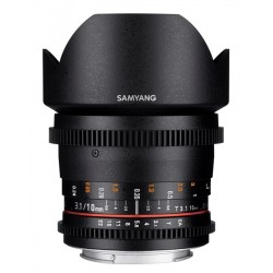 Samyang 10mm T3.1 VDSLR ED AS NCS CS II Canon EF-S