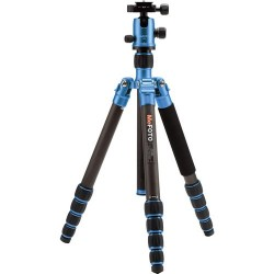 MeFoto GlobeTrotter Bleu Trépied Carbone