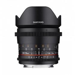 Samyang 16mm T2.6 ED AS UMC VDSLR for Sony E
