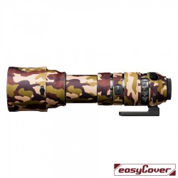 EasyCover Lens Oak Brown camouflage for Sigma 150-600mm f/5-6.3 DG OS HSM Sports