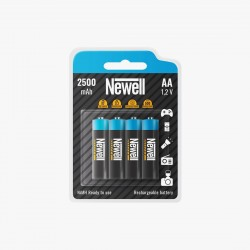 Newell Batterie Rechargeable AA 2500 mAh 4pcs