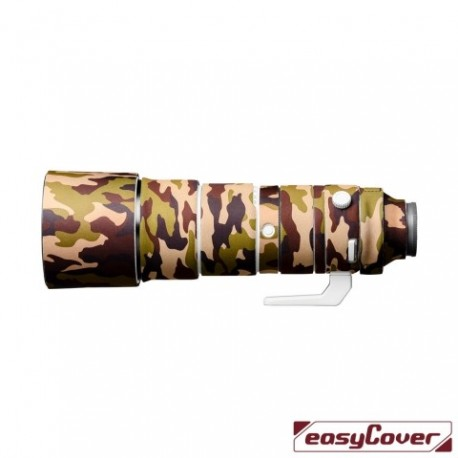 EasyCover Lens Oak Brown Camouflage for Sony FE 200-600 F5.6-6.3 G OSS