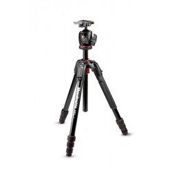 Manfrotto MK190GOA4-BHX - 4 sections aluminium + Rotule Boule