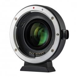 Viltrox EF-FX2 Adaptateur AF Speedbooster 0.71x pour Canon-Fuji X