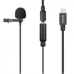 Boya  BY-M2 Lavalier Microphone comptible iOS