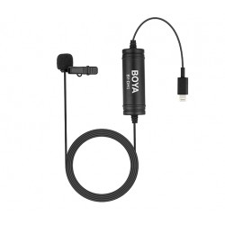 Boya  BY-DM1 Lavalier Lightning omnidirectional Microphone for iOS
