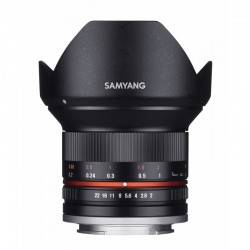 Samyang 12mm F2 NCS CS M4/3 (MFT) Black
