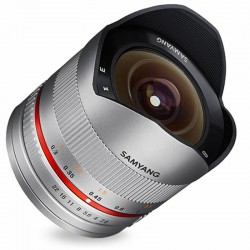 Samyang 8mm Fisheye f/2.8 for Samsung NX Silver