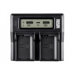 Newell DC-LCD Double Charger LP-E6 for Canon
