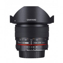 Samyang 8mm Fisheye f/3.5 MC CSII monture Nikon (AE)