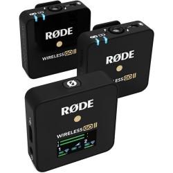 Rode Wireless GO II Compact Microphone sans fil pour 2 personnes