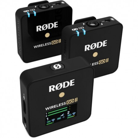Rode Wireless GO II Compact Microphone 2-person