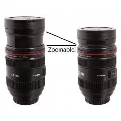 Retractable Zoom EF 24-70mm 1:8L USM Lens Coffee Thermos Cup Mug
