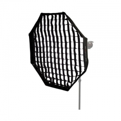 Quantuum Kit Softbox octagonal 120cm + Nid d'abeille (grille / grid)