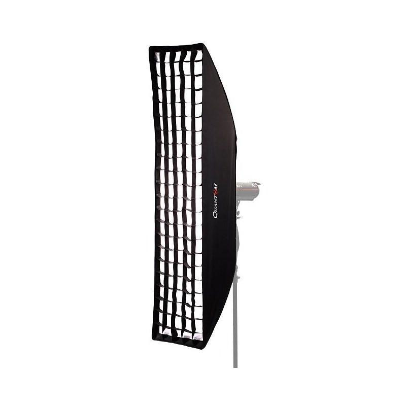 quantuum nid d 39 abeille grille grid pour softbox strip 40x180cm biglens. Black Bedroom Furniture Sets. Home Design Ideas