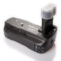 PHOTTIX Poignée de maintien BP-5D pour Canon 5D