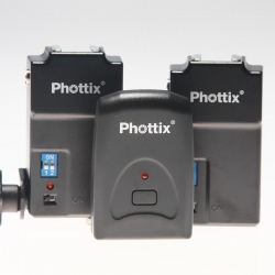 Phottix Tetra PT-04 Déclencheur Flash + 2 récepteurs