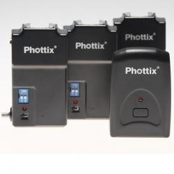 Phottix Tetra PT-04 Déclencheur Flash + 3 récepteurs
