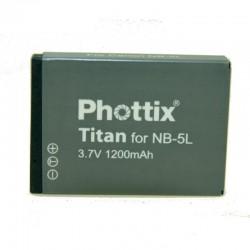 Phottix Batterie pour Canon NB-5L
