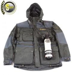 Stealth Gear Extrême Jacket Veste haut de gamme couleur Gris/Bleu foncé Taille S