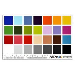 Scuadra ColorMix Medium 11.5x18cm charte de référence de couleurs
