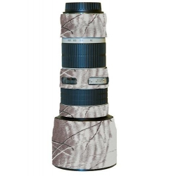 Lenscoat RealtreeAPSnow pour Canon 70-200mm 4 NON-IS L USM