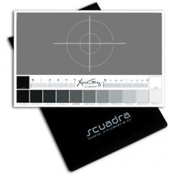 Scuadra Charte Gris Moyen 18% XpoGrey Medium 18x11.5cm