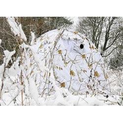 Tente d'affût type C31 Mini Dôme Snow