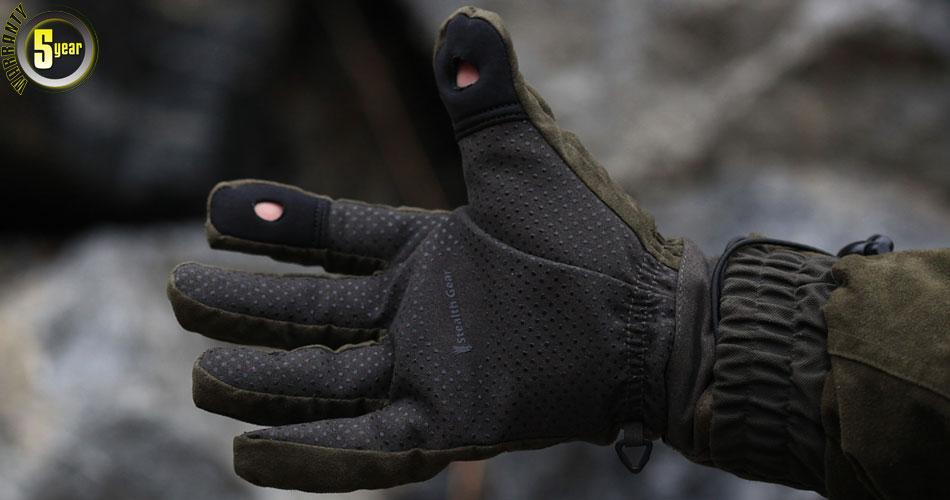 Size Stealth Gants Photographers Gear L Gloves Verts Taille F1TKJc3l