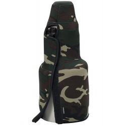 Lenscoat TravelCoat Canon 500mm IS no hood Forest Green Camo