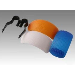 Diffuseur Blanc, Orange et Bleu pour Flash Pop-Up